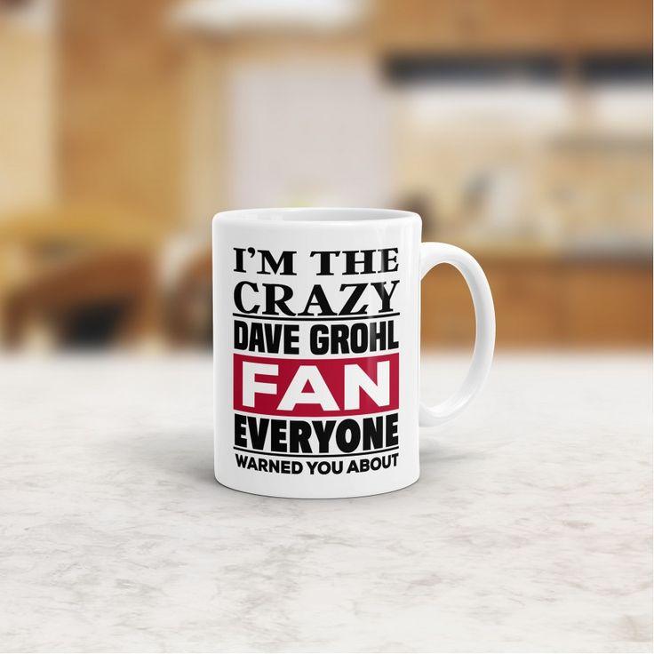 Crazy Dave Grohl Fan Mug