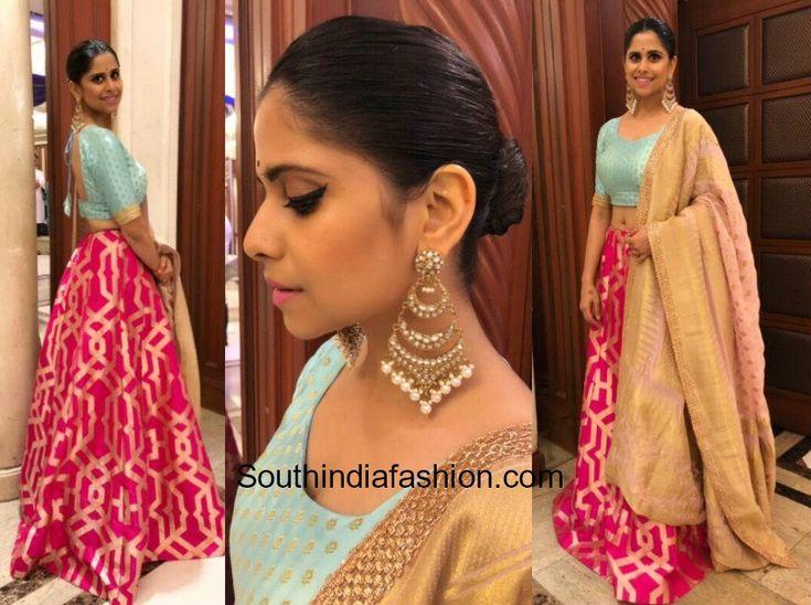 Sai Tamhankar in Kalki Fashion