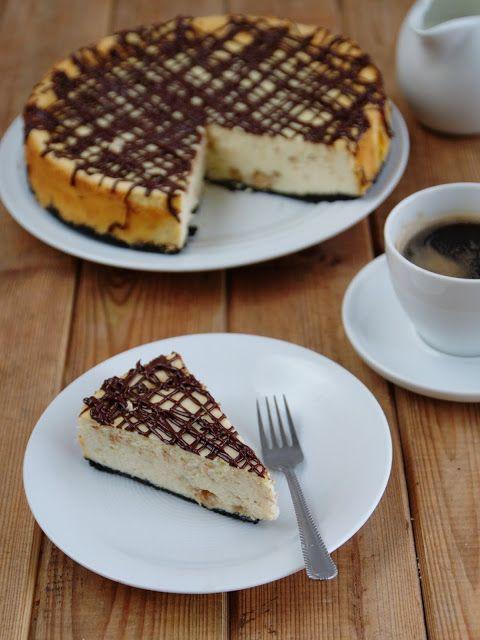 Sernik chałwowy (Halva cheesecake)