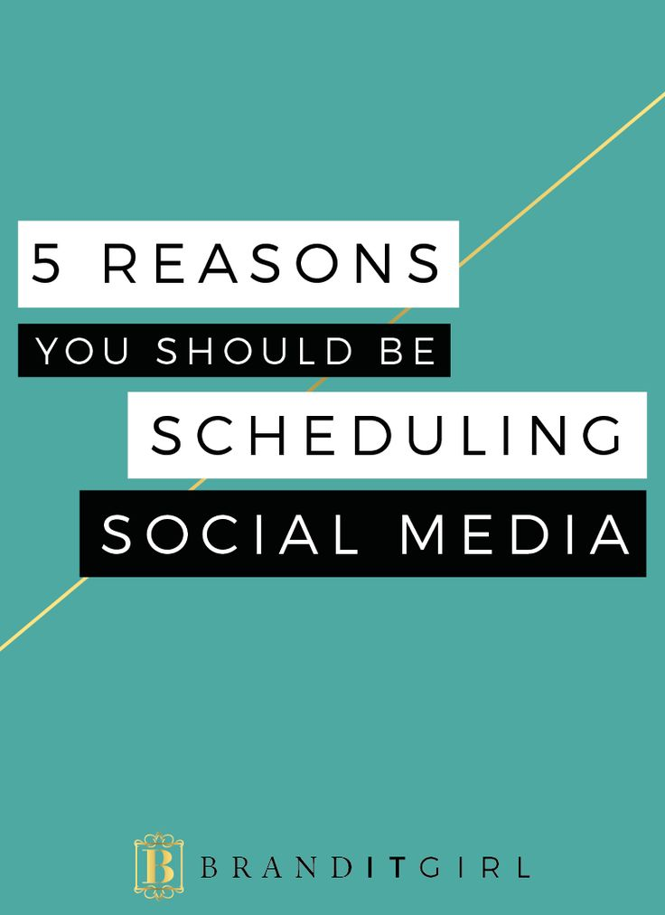 One of the best things I ever did for my business was to start scheduling social media! It's super easy and a huge time saver. But that's not the only reason you should get on it! Let me give you 5 good reasons why you should be scheduling your social media, click through to find out! #socialmedia #scheduling #smscheduling
