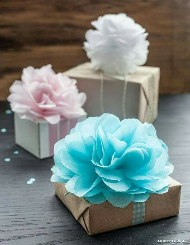 Tissue paper Pom bow