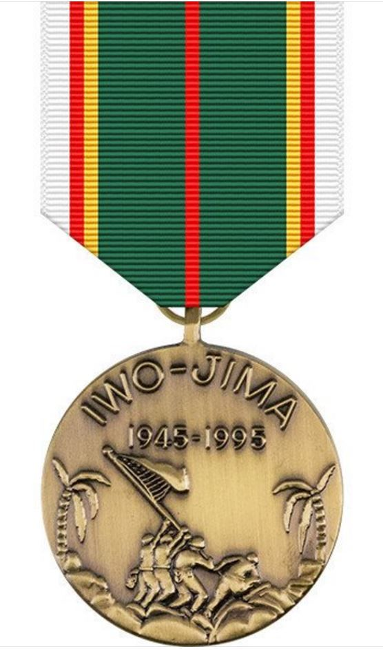 World War II Iwo Jima Commemorative Medal