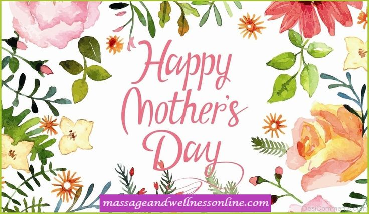 We Hope Everyone Had A Wonderful And Relaxing Mother's Day