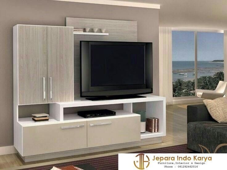100+ Model Desain Lemari Tv Flat Paling Keren