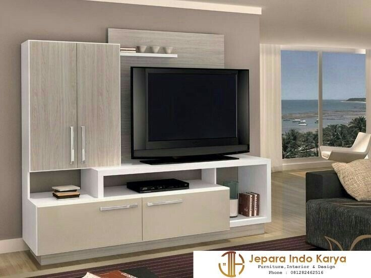 Desain Rak Tv Minimalis Terbaru  Backdrop TV