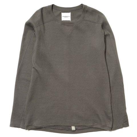 TAKAHIROMIYASHITA The Soloist Waffle Underwear Shirt