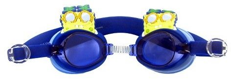 SpongeBob Squarepants Nickelodeon Boys' Swim Goggles Yellow