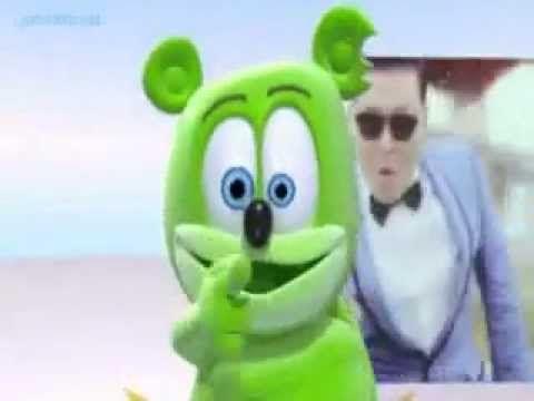 Gummy bear gangnam style by www.eriknerum.com. Follow us on twitter @endc_indonesia
