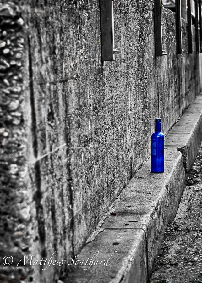 The lonely bottle photo by matthew southard