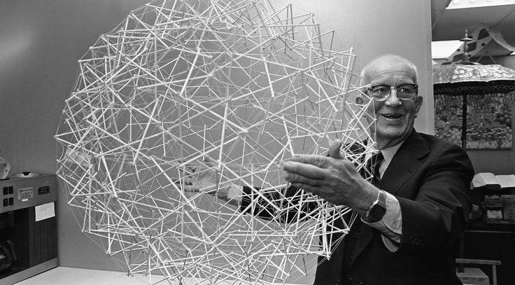 """Buckminster Fuller """"Design For The Stars"""" /  Sacred Geometry"""