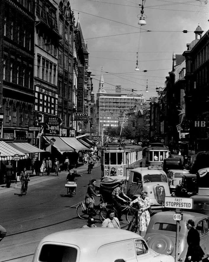 Vesterbrogade i 1950erne