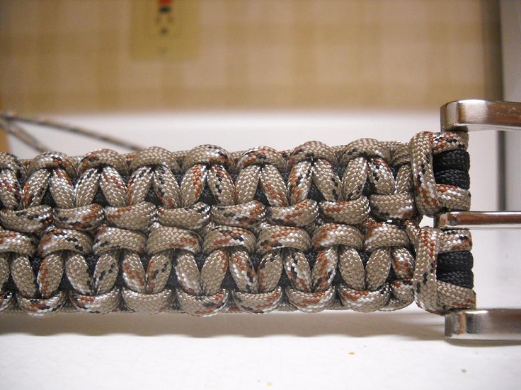 Hand crafted paracord belts made to order knotting for How to make a belt out of paracord