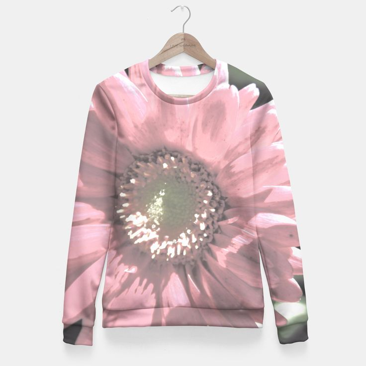 roselike flower Fitted Waist Sweater, Live Heroes