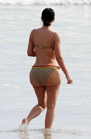 Kim Kardashian perde 100 mil seguidores com foto de celulite