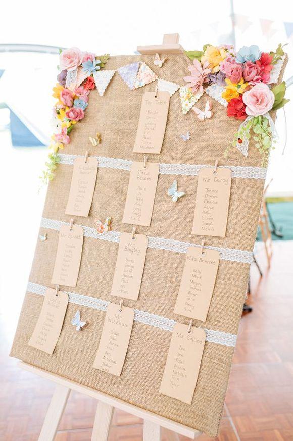 Decoracion de boda con mariposas