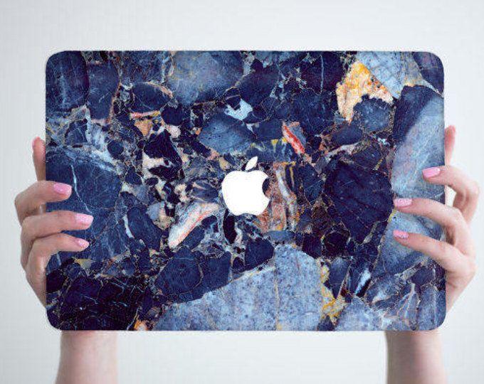 Blue Marble Macbook Case Hard Marble Macbook air Case Marble Macbook Pro Case MacBook air 13 air 11 case Marble MacBook pro 13 15 Stone