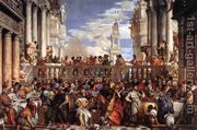 The Marriage at Cana 1563  by Paolo Veronese (Caliari)