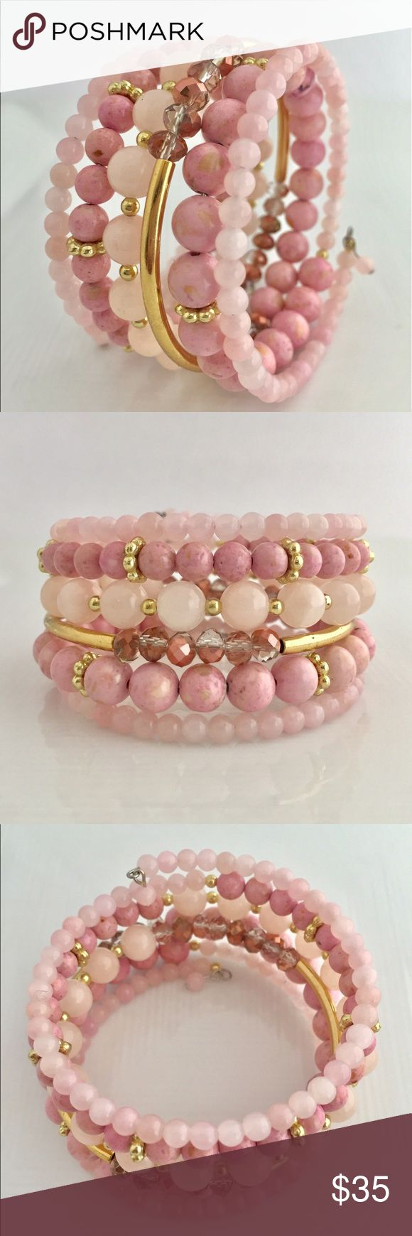 241 Best Memory Wire Bracelets Images On Pinterest
