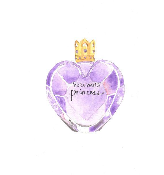 Vera Wang Princess Fragrance  Watercolor Perfume by MilkFoam, $30.00