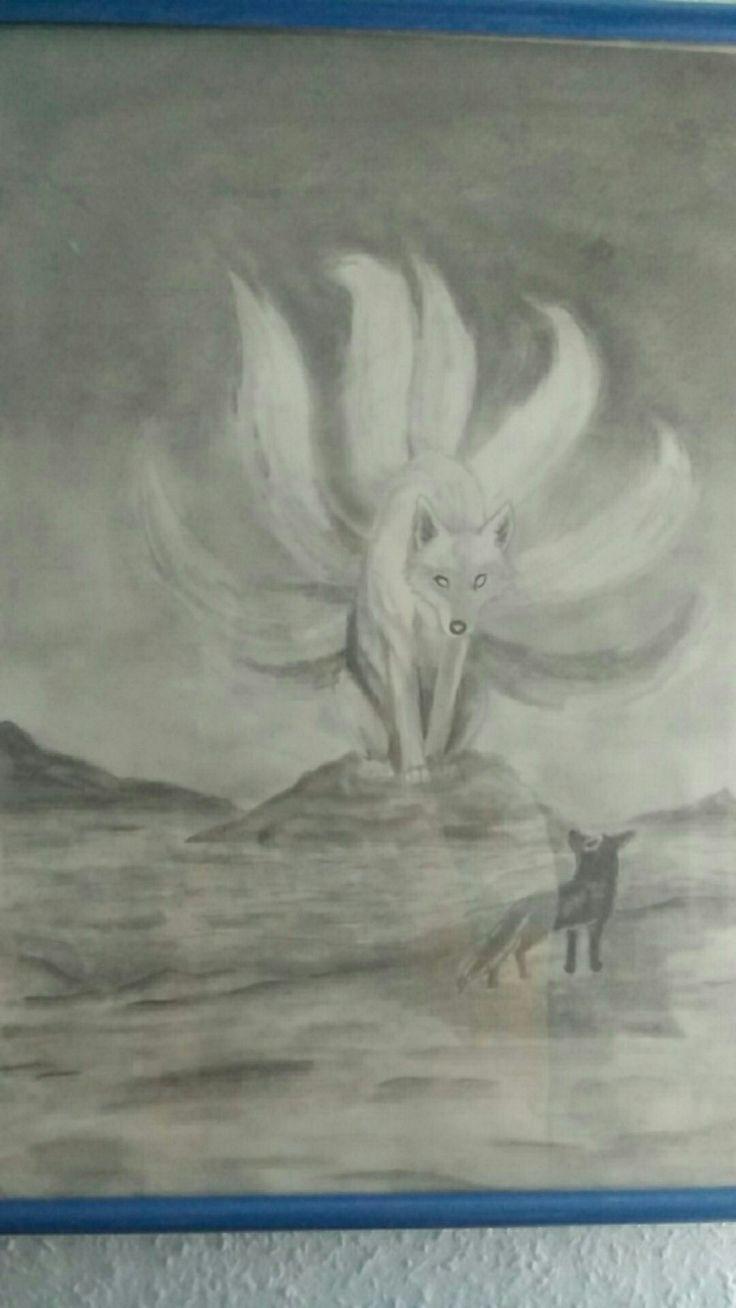 #Zeichnung #Fuchs #Wolf #Bleistift   Wolf zeichnung ...