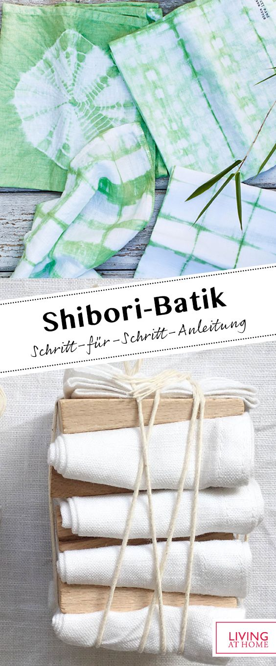 Shibori-Batik selber machen