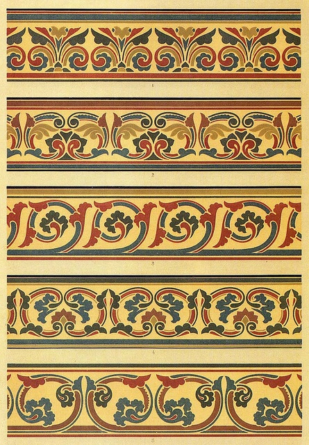 G and W Audsley 1882 Adaptations of 13th century stone carvings from laon cathedral, prodced by G and W Audsley in 1882. The Design Decoration Craft article relating to this illustration can be found here