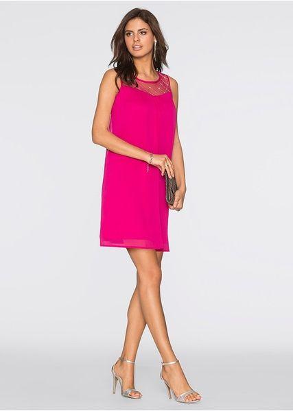 Sukienka z perełkami Piękna sukienka • 109.99 zł • bonprix