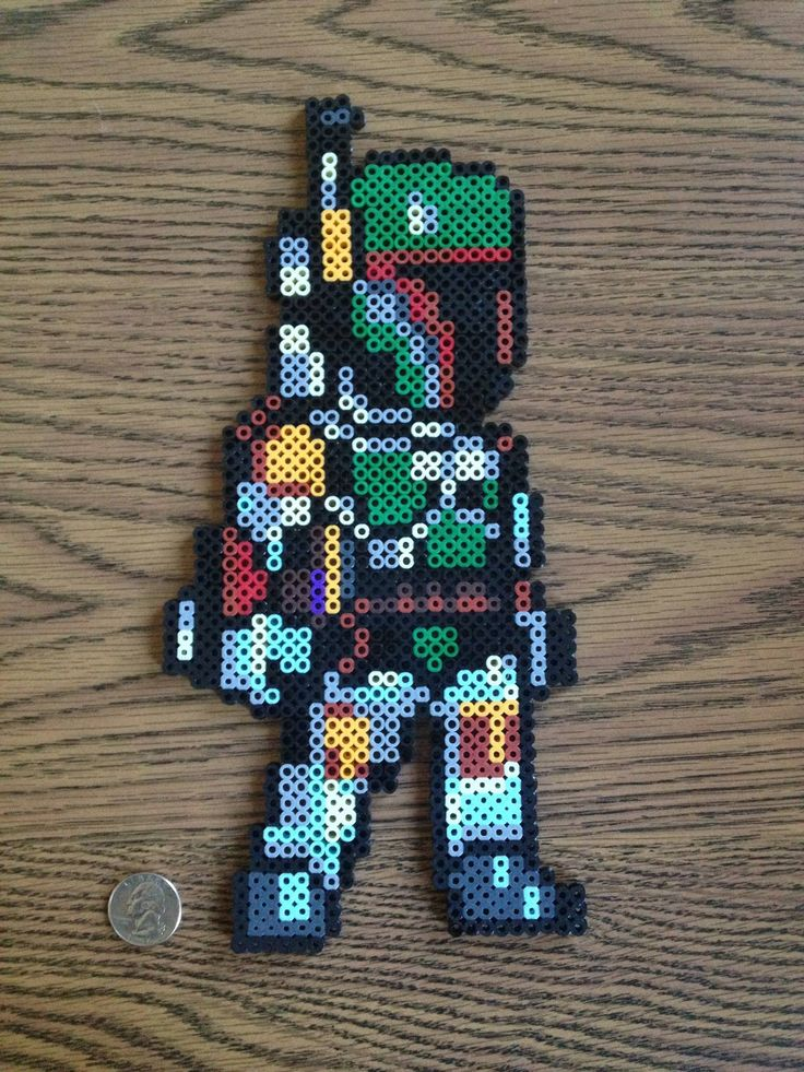 Friend used to run the Boba Fett fan site, hope he likes his gift - Imgur