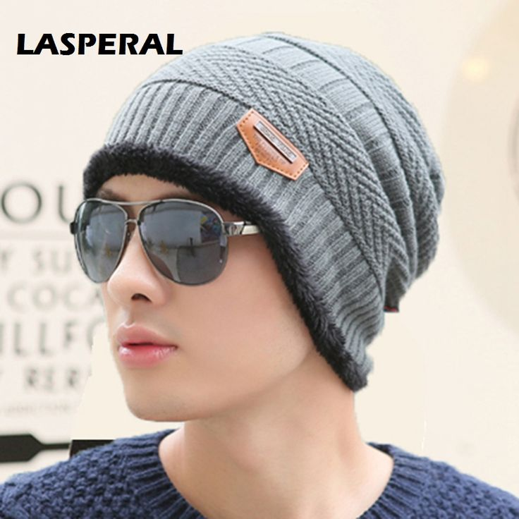 LASPERAL Outdoor Running Caps Sports Accessories Cap Thicker Fringe Warm Hunting Winter Hat For Men Women Knitting Wool Hat