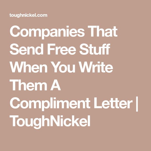 Best  Compliment Letter Ideas On   Gifts For Young
