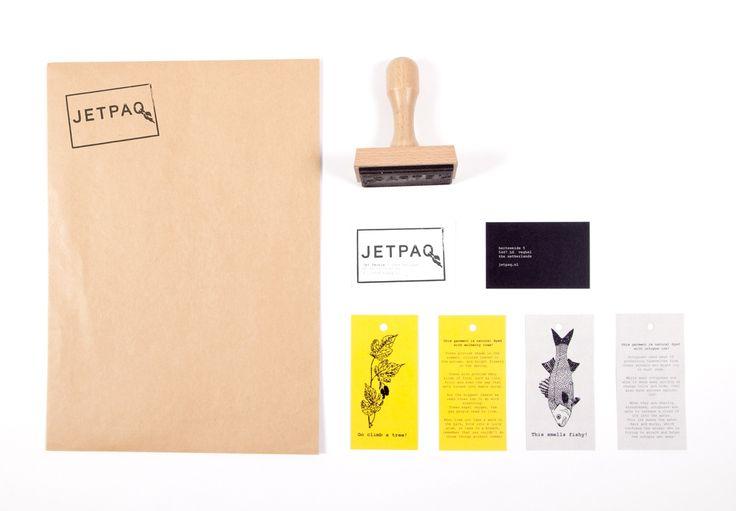 Logo & huisstijl ontwerp voor JETPAQ