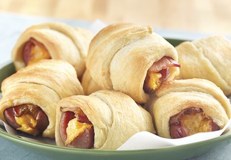 Cheese stuffed crescent rolls