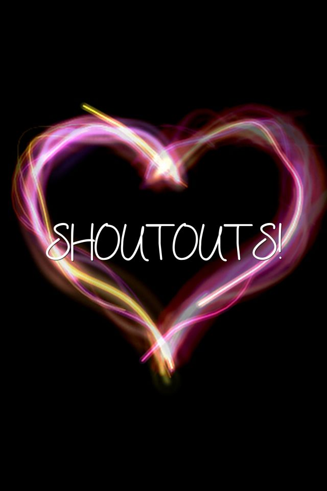 This is my shoutout board! If you are trying to get to a certain number of followers or just want a shoutout, comment below and I will send a shoutout!