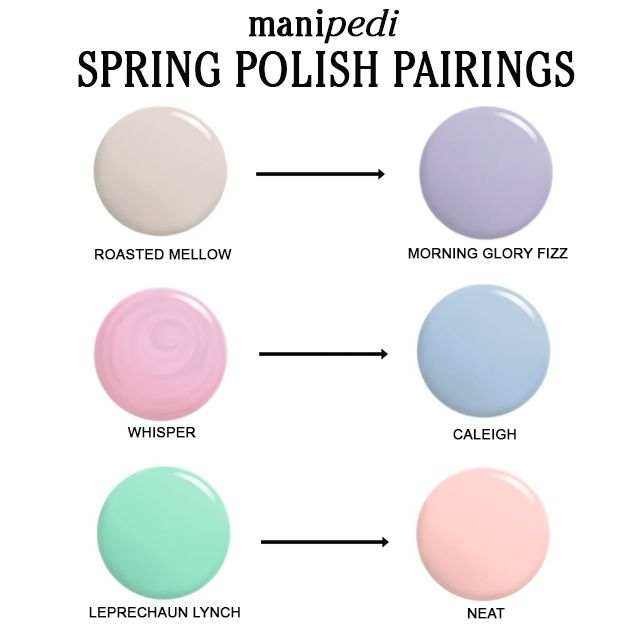 Scotch naturals spring polish pairings
