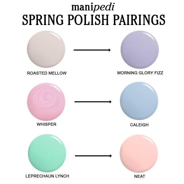 Scotch naturals spring polish pairings