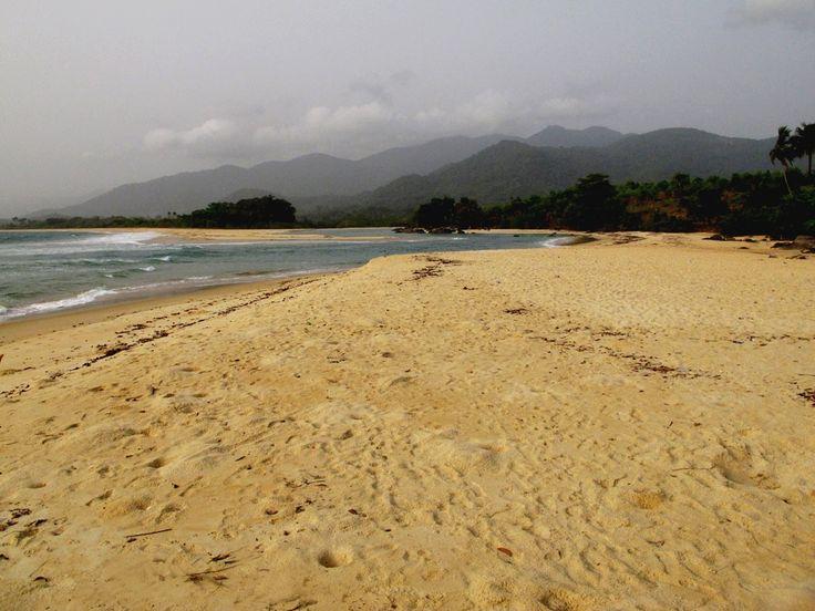 Beautiful Bureh beach, Sierra Leone