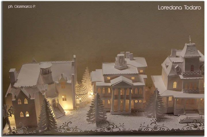 #papervillage #christmas #decor #natale
