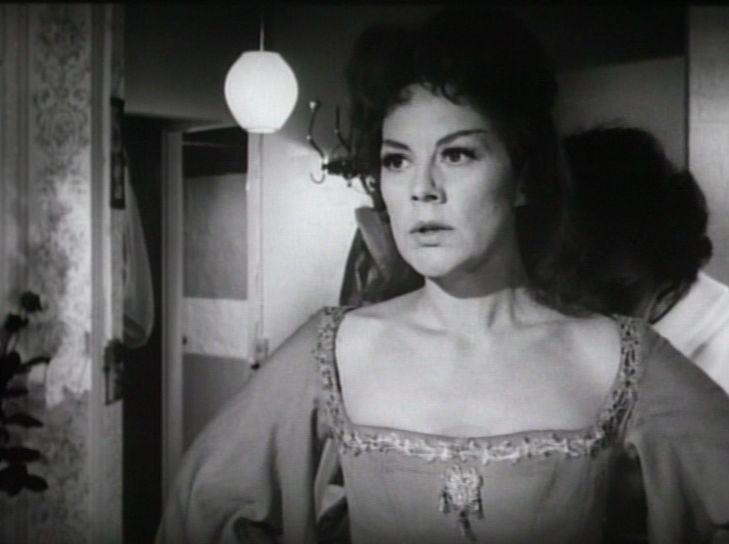 Som Ingrid i Premiere i helvede fra 1964