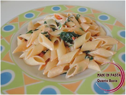 Pasta cremosa http://maninpastaqb.blogspot.it/2014/05/pasta-cremosa.html