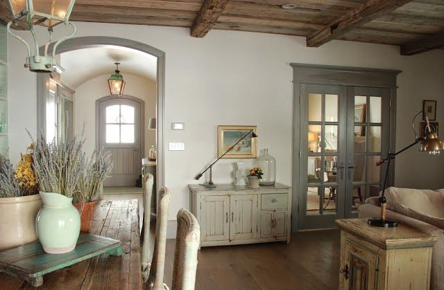 Provencal living room