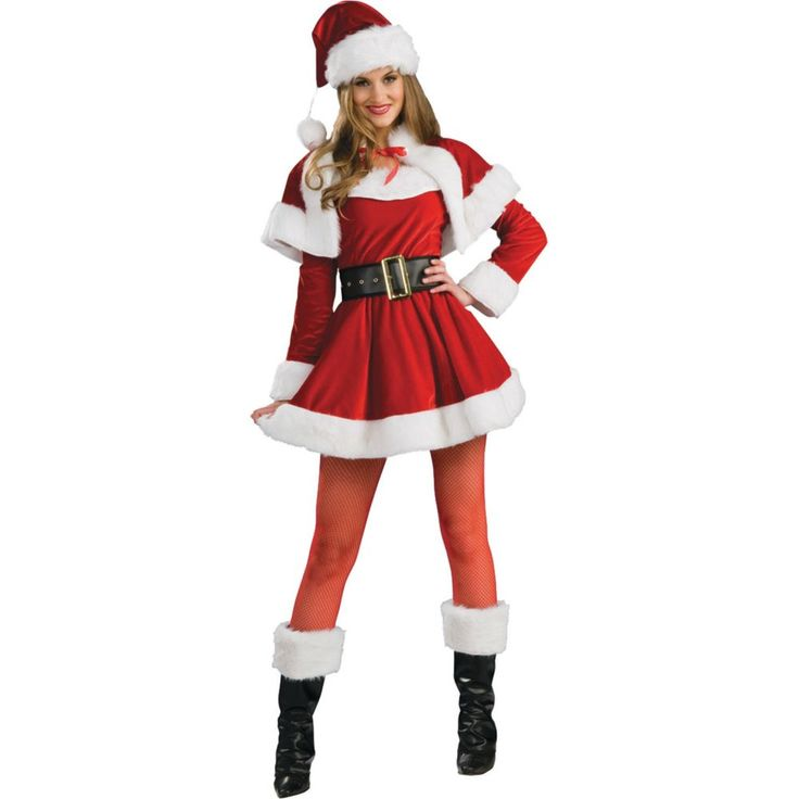 Santa's Helper Costume for Women - Small