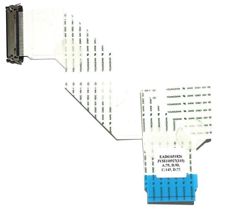 LG EAD61651826 LVDS CABLE