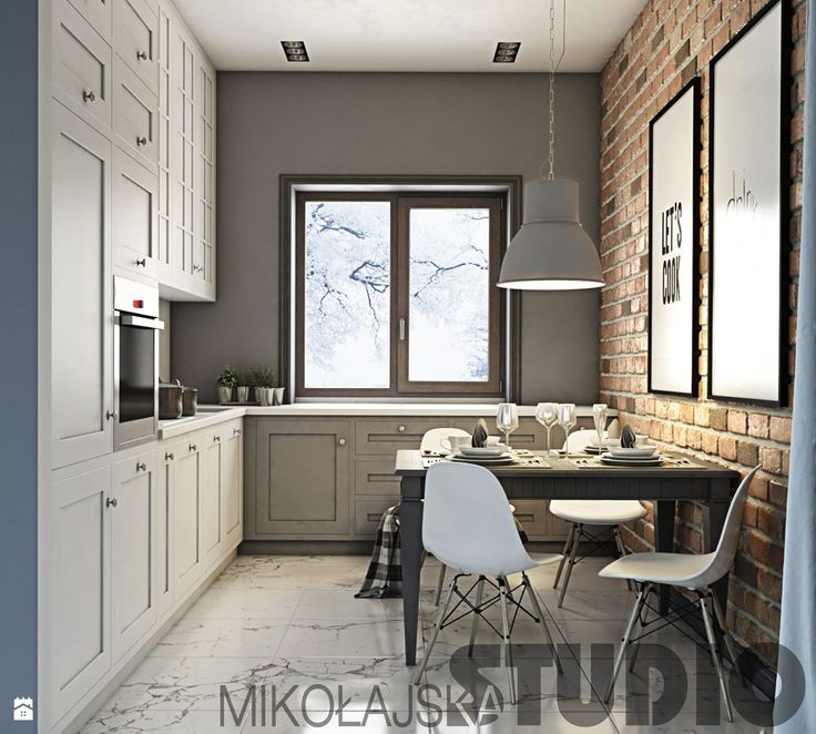 kuchnia vintage-projekt - zdjęcie od MIKOŁAJSKAstudio - Kuchnia - Styl Rustykalny - MIKOŁAJSKAstudio