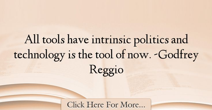 Godfrey Reggio Quotes About Technology - 67261