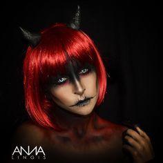 devil makeup - Cerca con Google                                                                                                                                                                                 Mehr