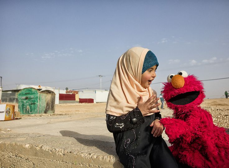 How can we help refugees? One of our favorite residents of Sesame Street, Elmo, is joining our World Refugee Day panel on 6/19. Ask Elmo your questions now - our askbox is open! http://glblctzn.me/2sBnC4x