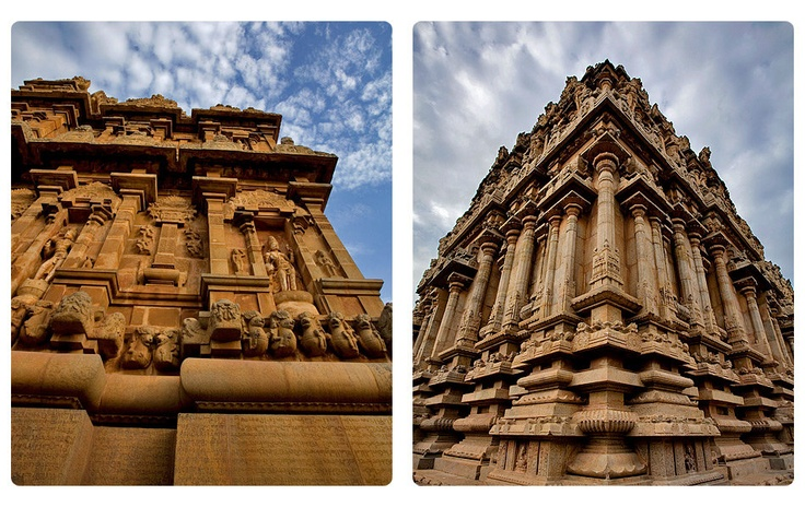 Thanjavur, Tamil Nadu Built by Raja Raja Chola I in 1011 to commemorate the victory of the Chola dynasty