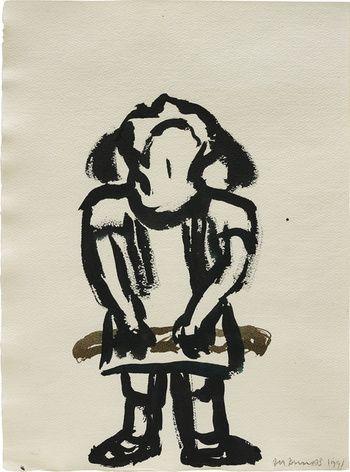 Marlene Dumas  Untitled, 1991  Phillips  Auction closed