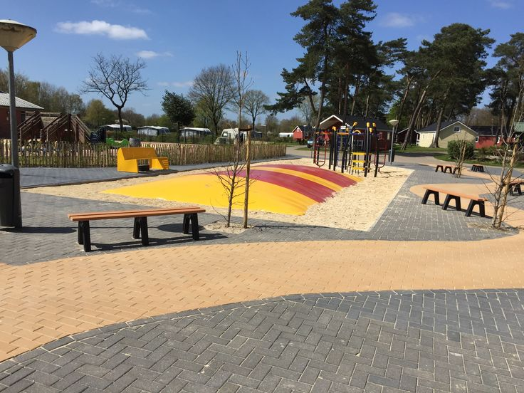 Molenhof kunststof parkbankjes zonder leuning - Enviroplau