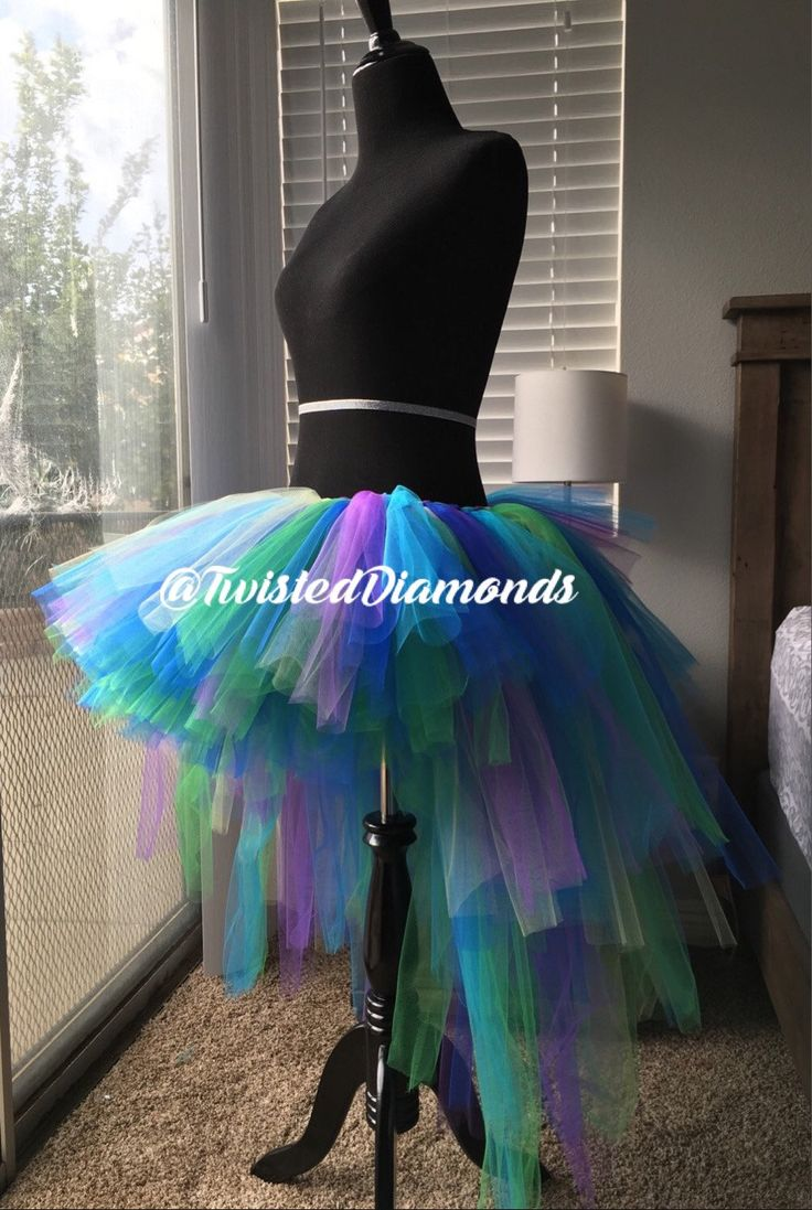 Sale Kids High Low Tutu, Cosplay, Peacock Tutu, Burlesque ...